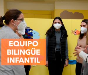 En Infantil enseñamos dos idiomas a la vez
