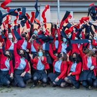 Graduación de 72 alumnos de Bachillerato